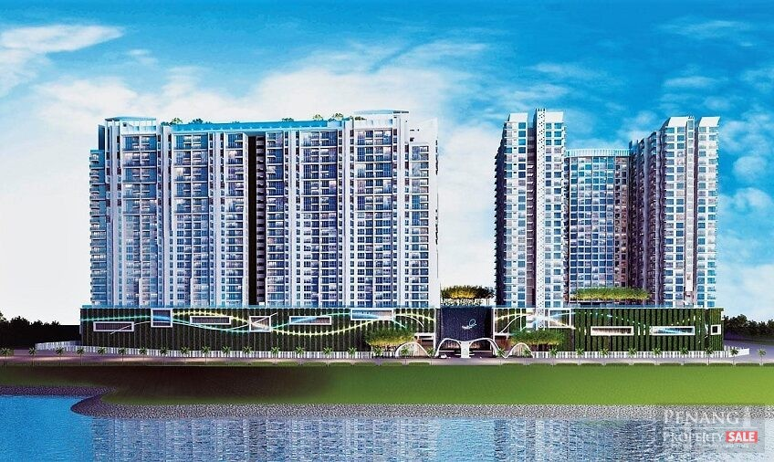 Queensbay, QuayWest Residence, Luxury Waterfront Serviced Apartment (Penthouse – 1,982sf)