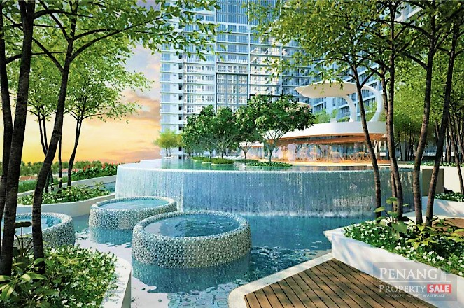 Queensbay, QuayWest Residence, Luxury Waterfront Serviced Apartment (1,470sf)