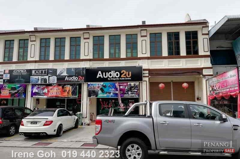 2 storey terrace shophouse or shop office at Siam Road  For Rent