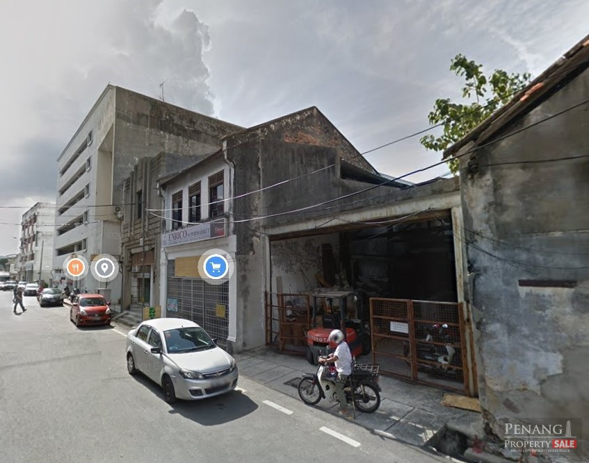 COMMERCIAL SHOP OFFICE BUILDING FOUR STOREY @ Georgetown